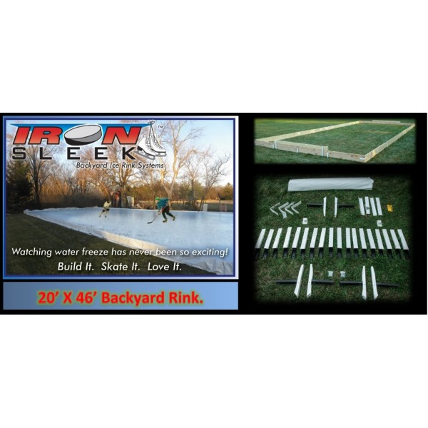 20' x 26' Outdoor Ice Rink Kit   Build Your Own Ice Rink Kit