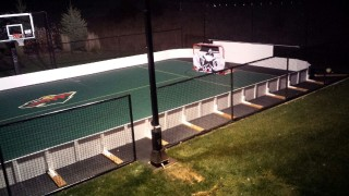 Poly Steel Boards look awesome on the Sports Court