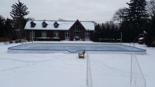 Wow, that's a nice ice rink!