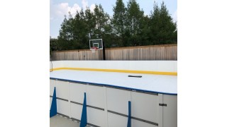 "Free Standing ""All tall"" with synthetic ice"