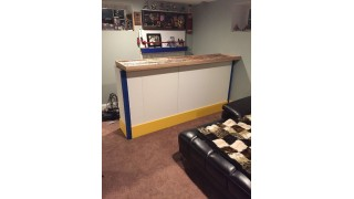 Ice Hockey Bar with Iron Sleek Poly
