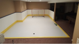 Synthetic Ice Wraps around the room