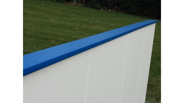 Iron Sleek Blue Poly Cap Rail SLIM
