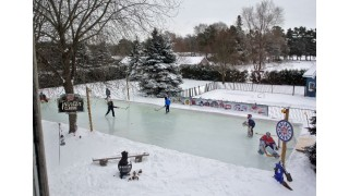 Slick Backyard Ice