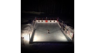 Snowed in Arena