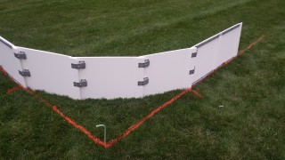 Iron Sleek Poly Steel Rink Round