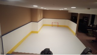 Basement Slap shots!