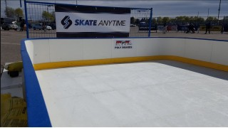 Synthetic Ice to skate anytime..anywhere!