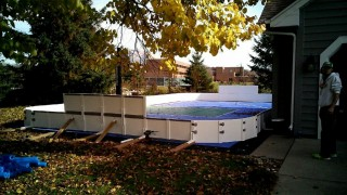 Sporting Pad enclosure.