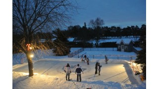 Canada Ice at Night