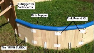 Backyard Rink Hardware