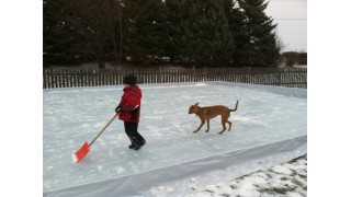 My doggy loves the ice too!
