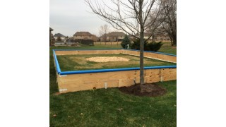 Plywood Rink Frame