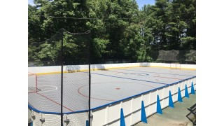 Sports Pad in the summer rink by winter