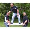 "Iron Sleek 2' wide 20"" Tall Rink Board"